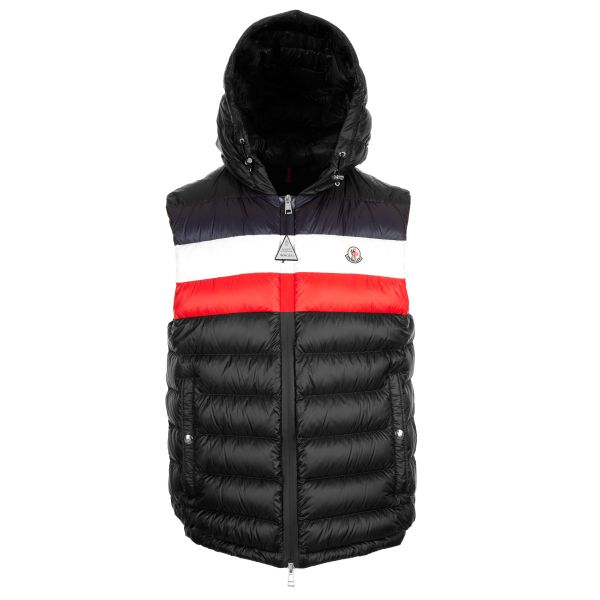 Moncler Timothe Down Quilted Hooded Gilet