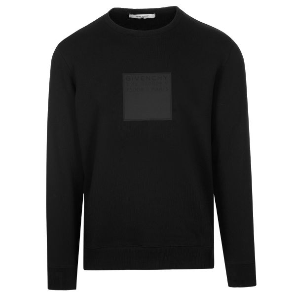 Givenchy Square Logo Patch Sweatshirt
