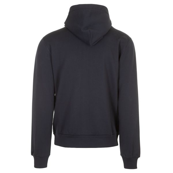 Dolce & Gabbana Logo Plaque Zip Up Hoodie