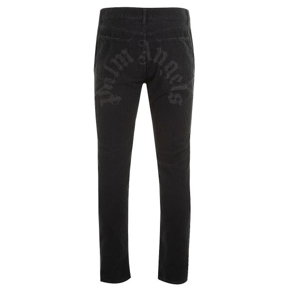 Palm Angels Curved Logo Corduroy Trousers