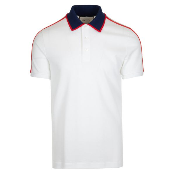 Gucci Web Stripe Polo