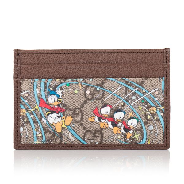 Gucci X Disney Donald Duck Card Case
