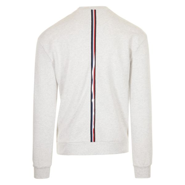 Moncler Tri Colour Embossed Logo Sweatshirt