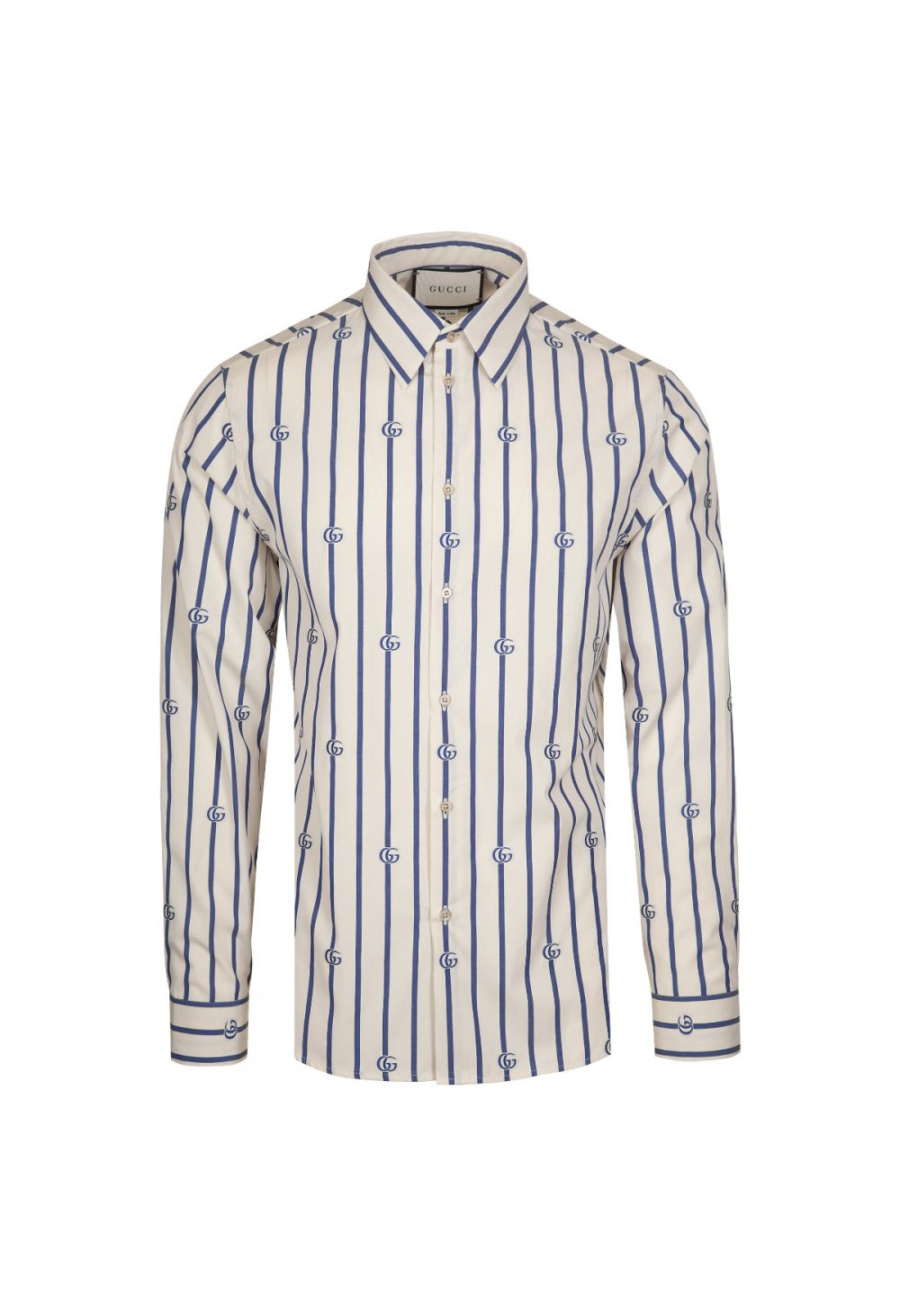 Gucci GG Striped Cotton Shirt