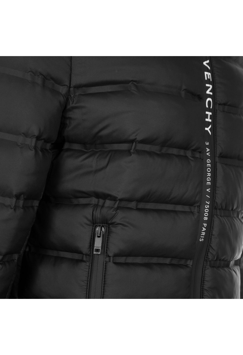 Givenchy Paris '3 Av George V' Lightweight Puffer Jacket