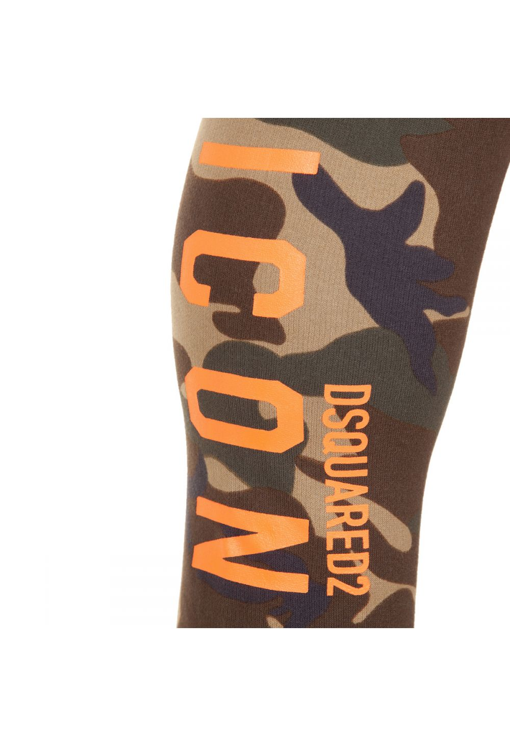 DSquared2 Camouflage Icon Logo Print Track Pants